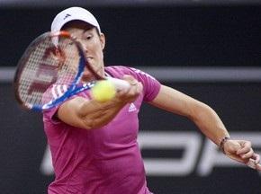 Мадрид WTA: Энен выбывает в первом круге