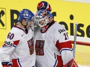 Чехи легко разобрались с французами на ЧМ по хоккею