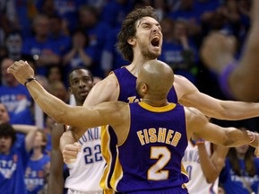 NBA Playoffs-2010. По Газоль хоронит Тандер