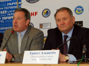 Украина хочет провести Чемпионат мира по хоккею