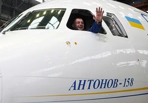 Новый украинский самолет совершил первый полет