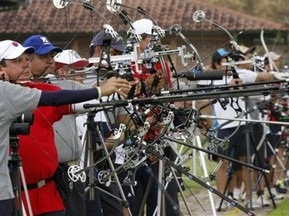 Во Львове перед соревнованиями похитили спортинвентарь польских лучников