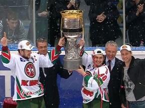 Ак Барс завоевал второй чемпионский титул Континентальной хоккейной лиги