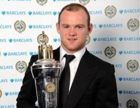 Руні названий найкращим футболістом Англії