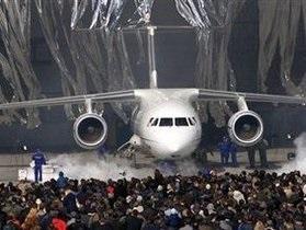 Презентацию Ан-158 отменили из-за отсутствия Януковича