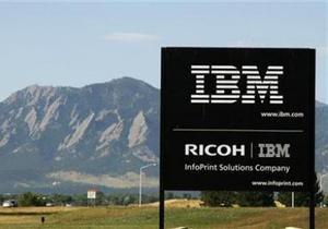Прибыль компании IBM увеличилась на 13%