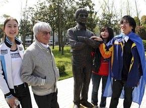 У Шанхаї відкрили Алею слави на честь переможців Гран-прі Китаю
