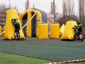 В Херсоне прошел первый этап Кубка Украины по пейнтболу