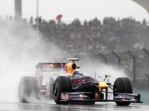 Гран-при Китая: В воскресенье в Шанхае возможны дожди