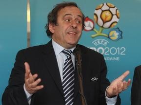 Платини о Евро-2012: Количество украинских городов могут сократить до двух