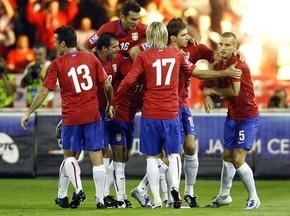 Сербия обыграла Японию в товарищеском матче