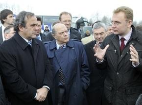 Мер Львова: Підтримка УЄФА - гарантія успішної підготовки до Євро-2012