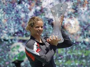 Клийстерс вошла в Топ-10 рейтинга WTA