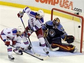 NHL: Рейнджеры разгромили Пантер в третьем периоде