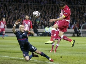 ЛЧ: Ліон впевнено перемагає Бордо