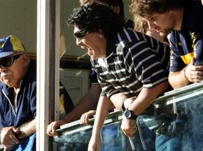 Марадону вкусила за обличчя власна собака