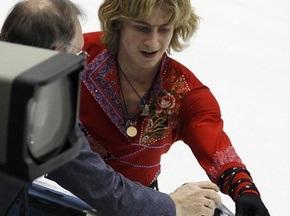 У российского фигуриста сломался конек на ЧМ-2010