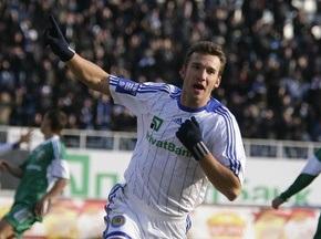 Шевченко не знал о 100-м мяче за Динамо