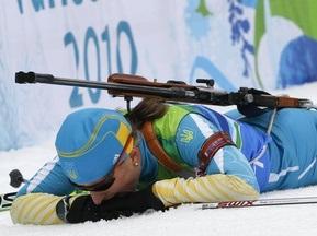 Украинские биатлонистки взяли серебро в эстафете на ЧЕ