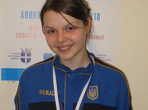Українська шаблістка здобула бронзу на ЧЄ серед кадетів
