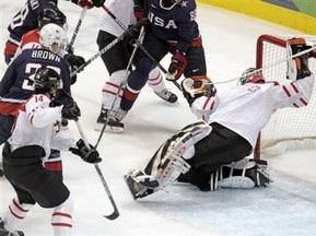 Хоккей: США - первый полуфиналист