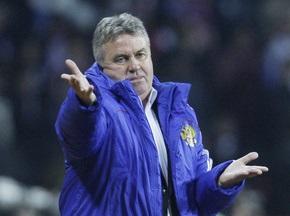 Хіддінк може достроково розірвати контракт зі збірною Росії