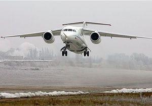 Украинско-российский Ан-148 совершил первый полет в Европу
