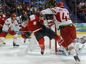 Хокей: Білорусь поступається по буллітам швейцарцям