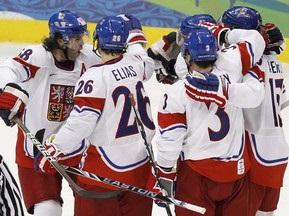 Хоккей: Чехи разгромили латвийцев