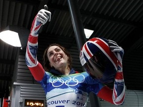 Скелетон: Британка Эми Уильямс завоевала олимпийское золото