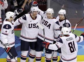 Збірна США розгромлює норвежців
