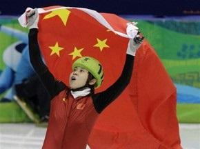 Шорт-трек: Ван Мэн выигрывает золото