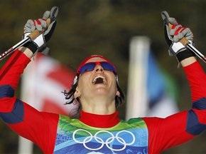 Бьорген впервые стала олимпийской чемпионкой