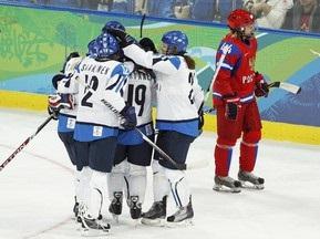 Хоккей: Финляндия обыграла сборную России