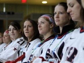 Хоккей: Американки громят китаянок