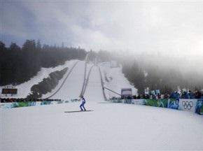 Лыжное двоеборье: Украинец финишировал последним в квалификации