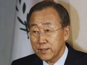 Генсек ООН призвал соблюдать перемирие в период проведения Олимпиады