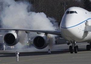 Новый Boeing 747-8 Jumbo совершил первый полет