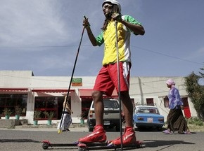 Эфиопский лыжник ищет на родине себе замену