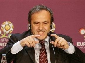 Платини доволен подготовкой Украины и Польши к Евро-2012