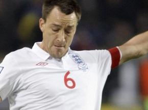 СМИ: Капелло лишил Терри капитанской повязки в сборной