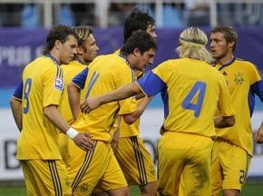 Рейтинг FIFA: Украина опускается на две позиции