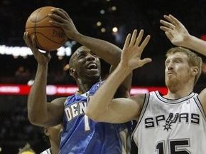 NBA: Денвер перемагає Сан-Антоніо