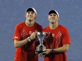 Братья Брайан в четвертый раз выигрывают Australian Open