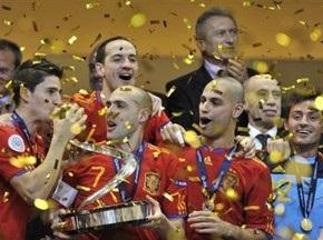 Испания стала пятикратным Чемпионом Европы по мини-футболу