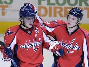 NHL: Дубль Сьоміна і три очки Овечкіна приносять перемогу Вашингтону