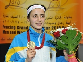 Украинская шпажистка Яна Шемякина стала победительницей Гран-при Катара