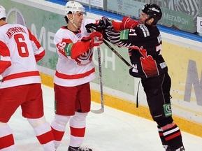 На хоккеистов Витязя и Авангарда завели уголовное дело