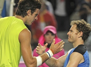 Australian Open: Дель Потро затратил на победу три часа