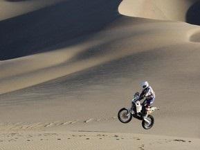 Дакар-2010: Верховен побеждает на 11-м этапе в зачете мотоциклов